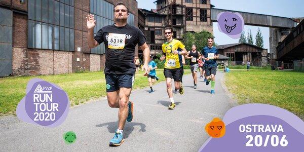 RunTour 2020: startovné na běhy v Ostravě