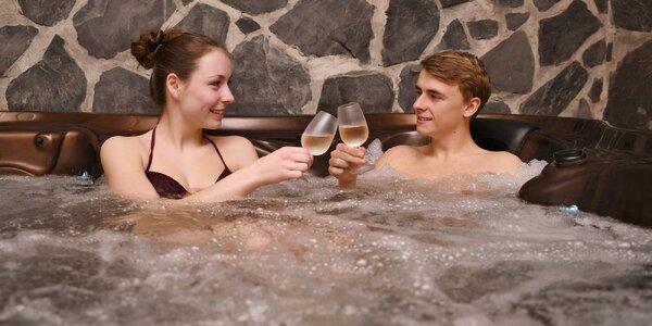 Romantika v privátním wellness až na celou noc