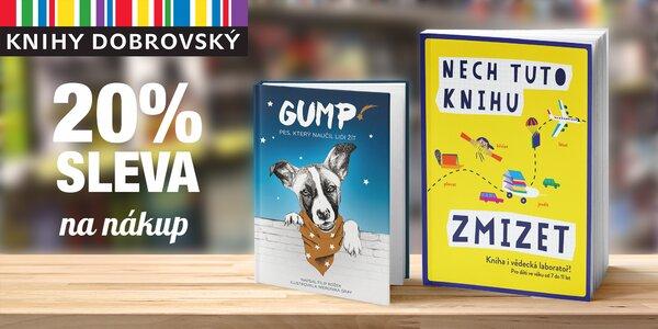 20% sleva na nákup v e-shopu Knihy Dobrovský
