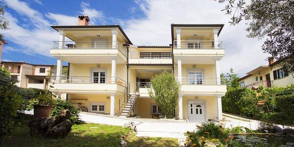 Vybavené apartmány na Istrii: až 7 nocí pro 2–4 osoby