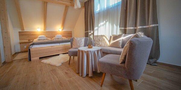 Romantika a luxus v apartmánech v Českém ráji