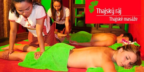 Párová masáž a rybky Garra Rufa v Thajském ráji