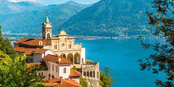 Jezera Švýcarska, nákupy v Milánu a 3 noci v hotelu