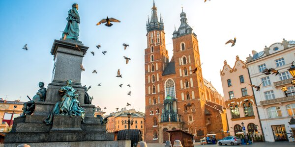 Pobyt přímo v srdci Krakova včetně snídaně