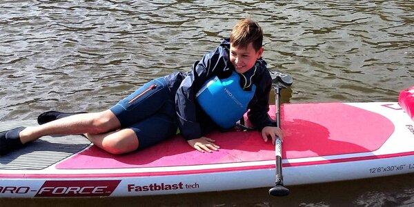 Kurz pro děti: zábavnou formou na paddleboardu