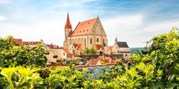 Jižní Morava se snídaněmi, večeří a degustací vín