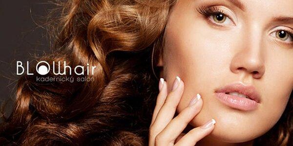 Stříhání i barvení vlasů ve studiu BLOWhair