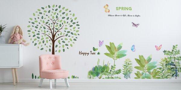 Vyzdobte si byt: samolepky na zdi a nábytek