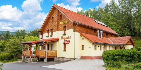 Léto v Krušných horách na 3-8 dní se snídaní