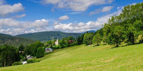Jarní nebo léto v Krkonoších s polopenzí a výlety