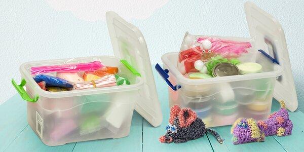 Inteligentní plastelína: až 24 barev v boxu