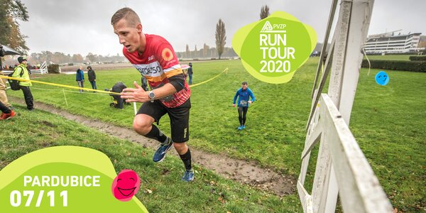 RunTour 2020: startovné na běh v Pardubicích