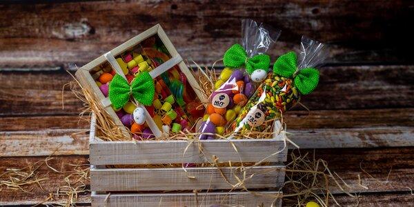 Velikonoční dobroty: bonbony i oříšky v čokoládě
