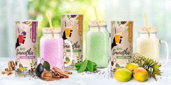 Osvěžte se zdravým nápojem: bio smoothies