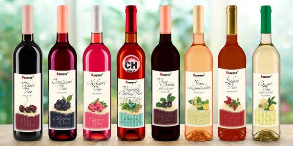 Ovocná vína z českého venkova: 12 různých chutí