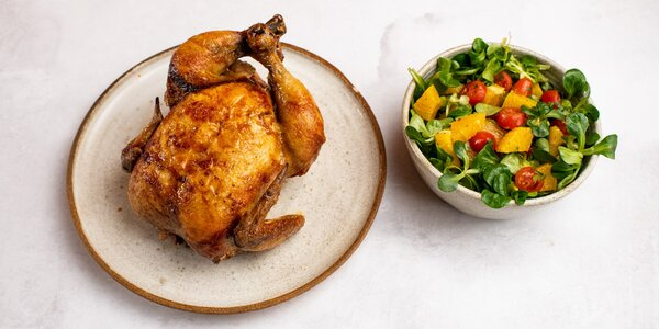 20% sleva na grilovaná kuřata ze stánku Chicken Guys