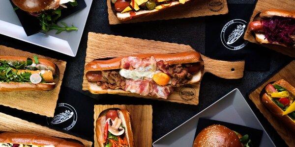 30% sleva do bistra Kraftdog: hot dogy a burgery