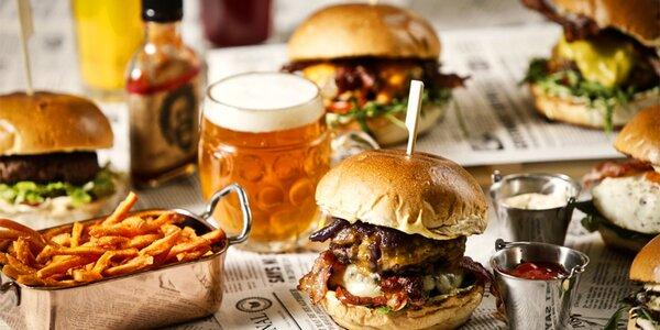 20% sleva do burgerové restaurace na Vyšehradě