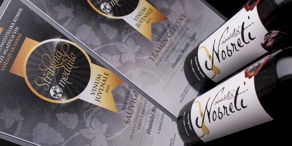 Sety šesti vín z jihomoravské vesničky Zaječí