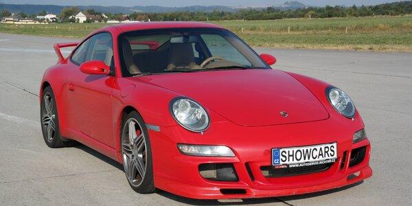 2 či 4 kola na Polygonu Brno v Porsche 911 Carrera