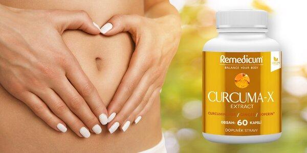 Skvělá podpora imunity: doplněk stravy Curcuma-X