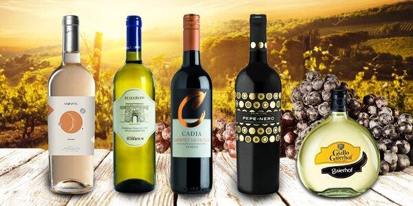 Velký výběr kvalitních italských vín