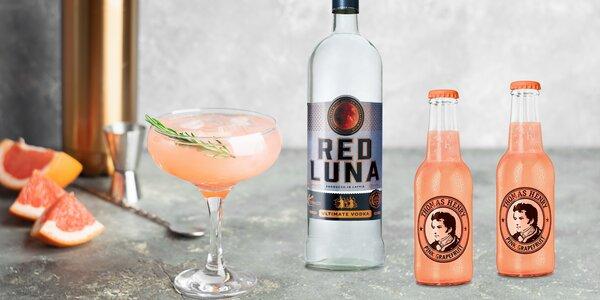 Lotyšská vodka i s limonádami na míchané drinky