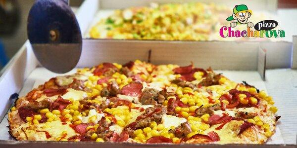 Chacharova pizza: výběr z 15 druhů, rozvoz
