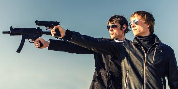 Střelecké balíčky pro 2 osoby s až 12 zbraněmi