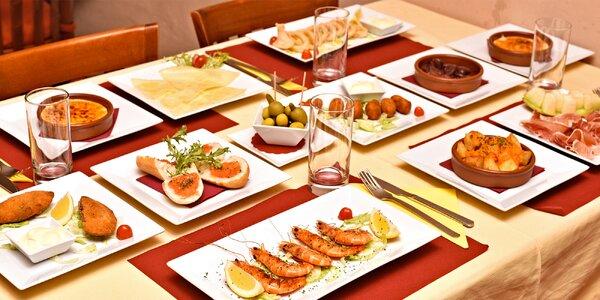 20% sleva do španělské restaurace na Malé Straně