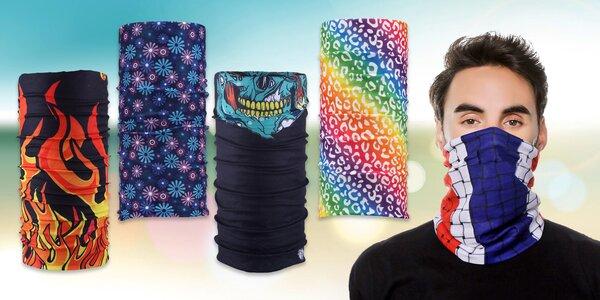 Multifunkční elastický nákrčník: 13 designů