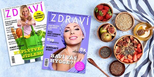 Roční předplatné časopisu Zdraví s bonusy
