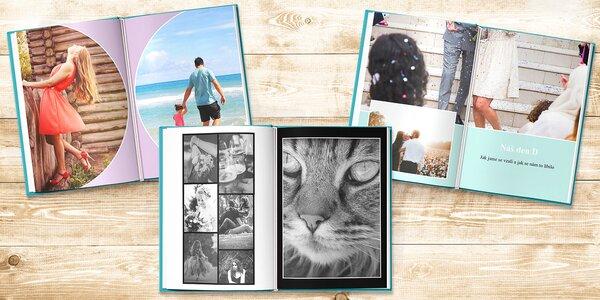 A4 fotoknihy s 32–120 stranami a pevnou vazbou