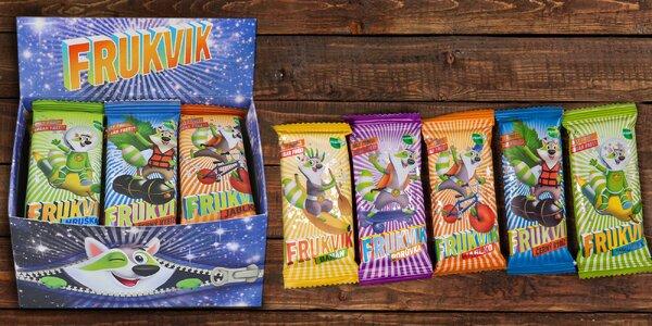Šťavnaté ovocné tyčinky Frukvik: 5 příchutí