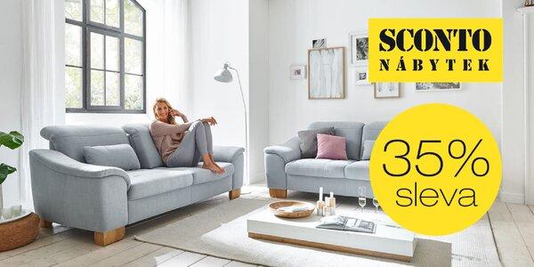 35% sleva na nábytek z e-shopu Sconto