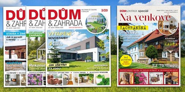 Roční předplatné časopisu Dům & Zahrada s dárkem