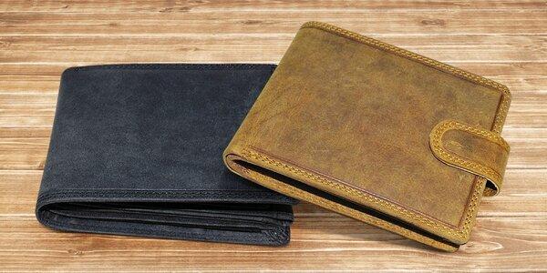 Pánské peněženky z pravé hovězí kůže