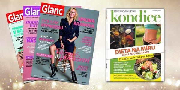 Roční předplatné časopisu Glanc pro moderní ženy