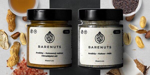 Limitované oříškové krémy: mák a slaný karamel