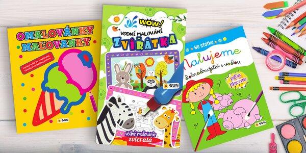 Zábava pro děti: omalovánky i tajný deník