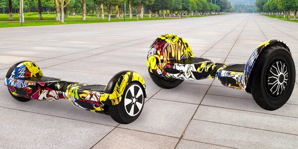 Graffiti hoverboard Berger: 6,5″ i 10″ kola