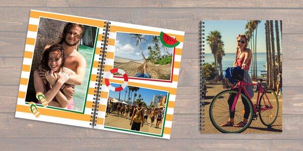 Fotokniha s kroužkovou vazbou: 12 až 92 stran