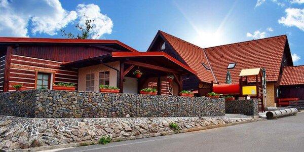 Léto v Orlických horách s polopenzí a saunou