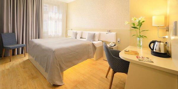 4* Hotel v centru Prahy se snídaní a parkováním v ceně