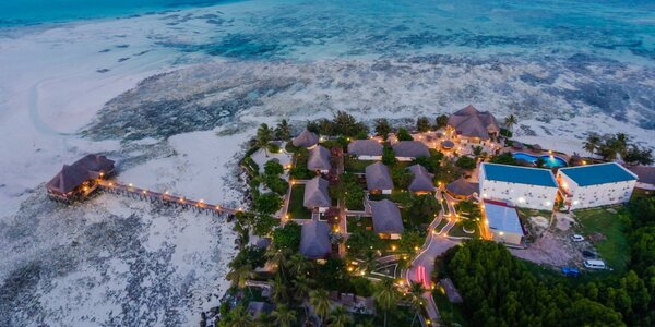 Oblíbený 3* resort v africkém stylu na Zanzibaru