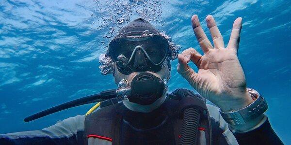 90min. potápění pro začátečníky v lomu Srní