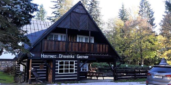 Stylový penzion v Harrachově s polopenzí