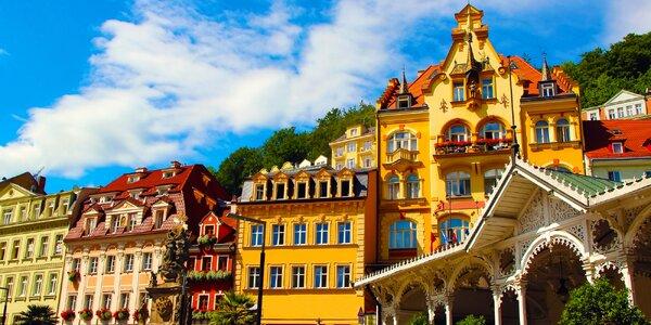 Karlovy Vary pro rodinu: 4* hotel s polopenzí