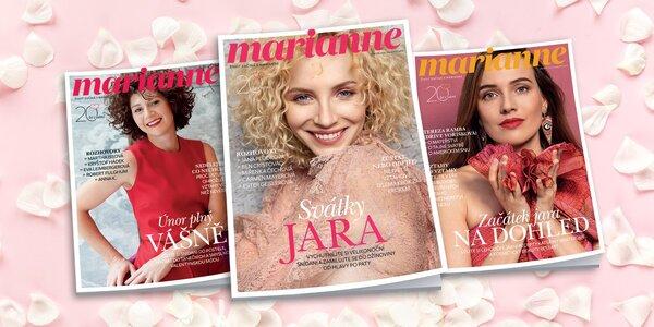 Čtvrtletní předplatné časopisu Marianne