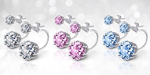 Šperky z chirurgické oceli s krystaly Swarovski